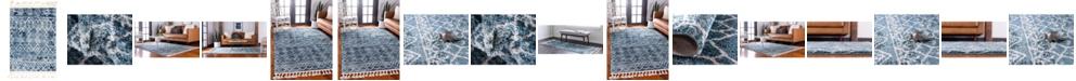 Bridgeport Home Levia Lev1 Dark Blue Area Rug Collection
