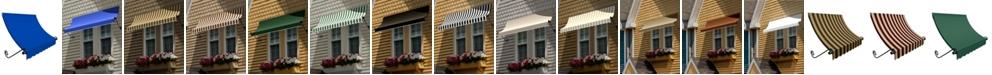 "Awntech 4' Charleston Window/Entry Awning, 31"" H x 24"" D"