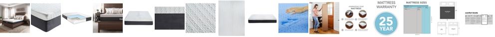 "Sleep Trends Ladan 12"" Cool Gel Memory Foam Plush Mattress- King, Mattress in a Box"