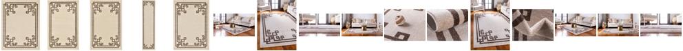 Bridgeport Home Anzu Anz3 Beige/Brown Area Rug Collection
