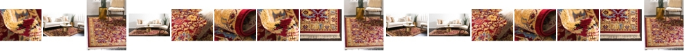 Bridgeport Home Borough Bor1 Red Area Rug Collection