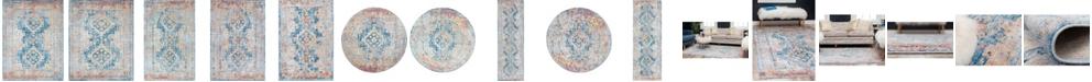 Bridgeport Home Nira Nir5 Blue Area Rug Collection