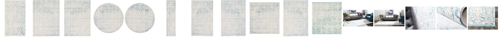 Bridgeport Home Norston Nor5 Light Blue Area Rug Collection