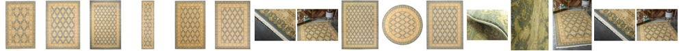 Bridgeport Home Orwyn Orw5 Blue Area Rug Collection