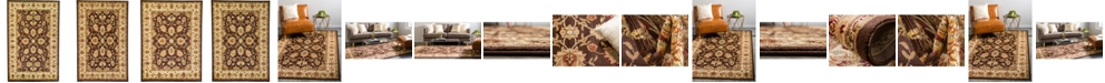 Bridgeport Home Passage Psg3 Brown Area Rug Collection