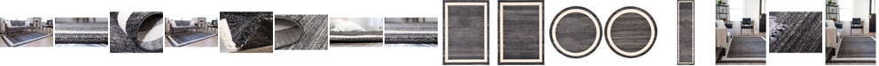 Bridgeport Home Lyon Lyo5 Black Area Rug Collection