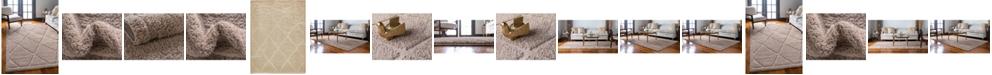 Bridgeport Home Filigree Shag Fil1 Beige Area Rug Collection