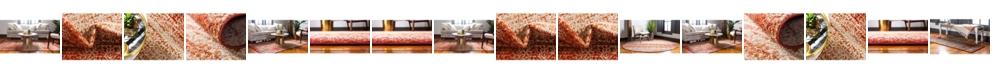 Bridgeport Home Jasia Jas08 Terracotta Area Rug Collection