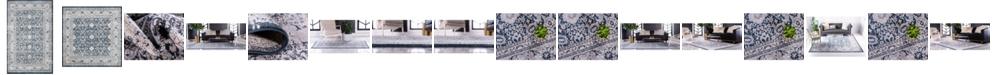 Bridgeport Home Anika Ani2 Navy Blue Area Rug Collection