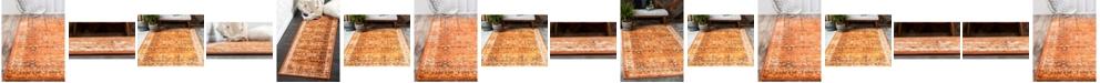 Bridgeport Home Linport Lin1 Terracotta/Ivory Area Rug Collection