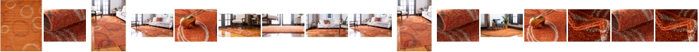 Bridgeport Home Jasia Jas05 Terracotta Area Rug Collection