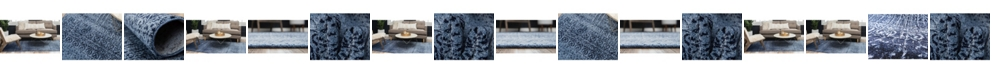 Bridgeport Home Lyon Lyo2 Blue Area Rug Collection