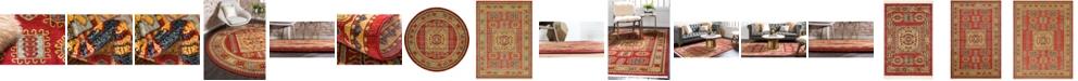 Bridgeport Home Harik Har6 Red Area Rug Collection