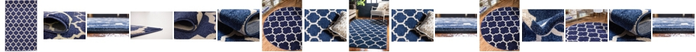 Bridgeport Home Arbor Arb1 Dark Blue Area Rug Collection