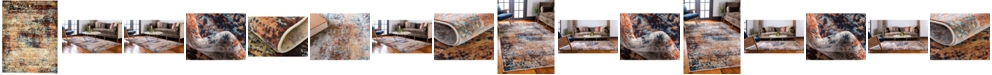 Bridgeport Home Marblesea Mrb4 Peach Area Rug Collection