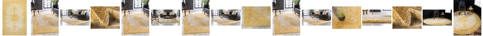 Bridgeport Home Mobley Mob1 Yellow Area Rug Collection