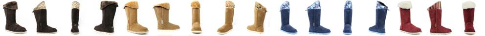 SUPERLAMB Women's Mongol Extra Wide Calf Boots