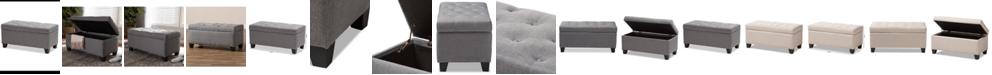 Furniture Michaela Storage Ottoman