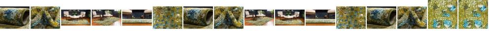 Bridgeport Home Adah Ada1 Green Area Rug Collection