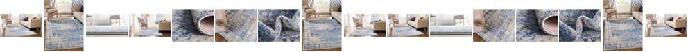 Bridgeport Home Agostina Ago1 Navy Blue Area Rug Collection