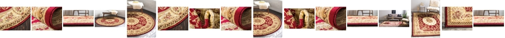 Bridgeport Home Belvoir Blv4 Red Area Rug Collection