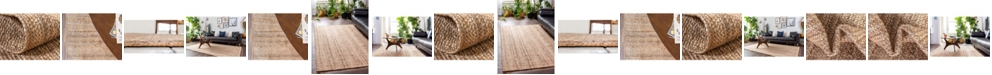Bridgeport Home Braided Jute C Bjc5 Natural Area Rug Collection