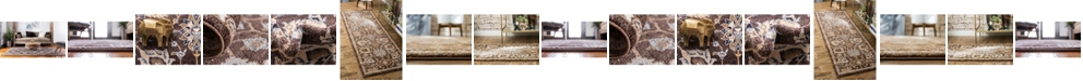 Bridgeport Home Wisdom Wis1 Brown Area Rug Collection