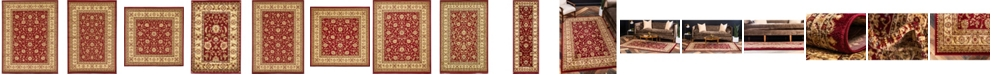 Bridgeport Home Passage Psg4 Red Area Rug Collection