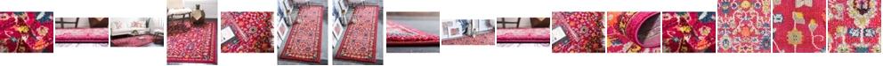 Bridgeport Home Sana San5 Fuchsia Area Rug Collection