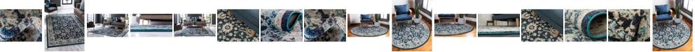 Bridgeport Home Lorem Lor3 Navy Blue Area Rug Collection