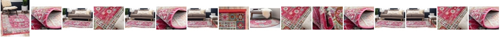 Bridgeport Home Kenna Ken2 Pink Area Rug Collection