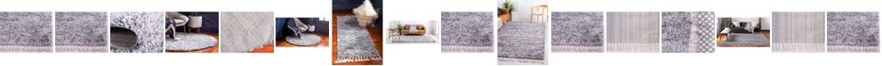 Bridgeport Home Lochcort Shag Loc3 Gray Area Rug Collection