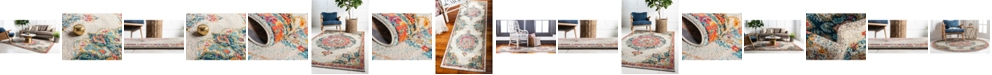 Bridgeport Home Lorem Lor1 Ivory Area Rug Collection