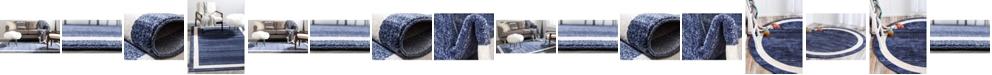 Bridgeport Home Lyon Lyo5 Navy Blue Area Rug Collection