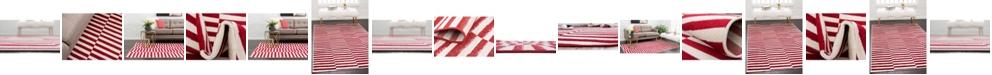 Bridgeport Home Axbridge Axb2 Red Area Rug Collection