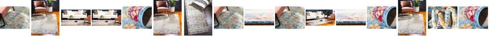 Bridgeport Home Malin Mal2 Blue Area Rug Collection