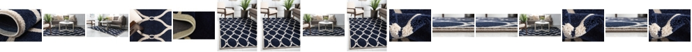 Bridgeport Home Arbor Arb6 Navy Blue Area Rug Collection