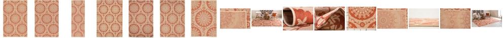 Bridgeport Home Pashio Pas5 Terracotta Area Rug Collection