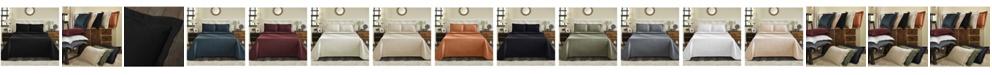 Superior Basket Weave Jacquard Matelasse 3 Piece Bedspread Set, Full