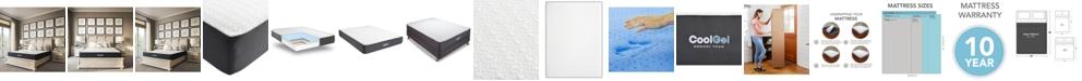 """Sleep Trends Ladan 10.5"""" Cool Gel Memory Foam Cushion Firm Pillow Top Mattress- Queen, Mattress in a Box"""