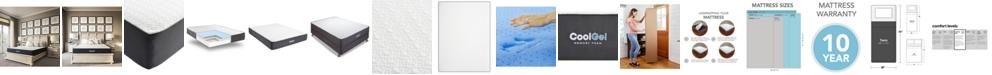 """Sleep Trends Ladan 10.5"""" Cool Gel Memory Foam Cushion Firm Pillow Top Mattress- Twin, Mattress in a Box"""