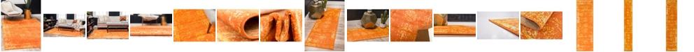 Bridgeport Home Basha Bas1 Orange Area Rug Collection
