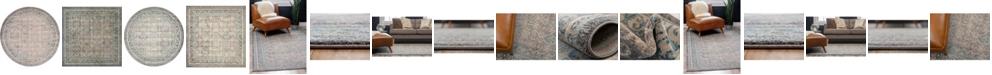 Bridgeport Home Bellmere Bel4 Gray Area Rug Collection