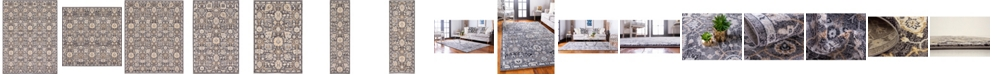 Bridgeport Home Wisdom Wis1 Gray Area Rug Collection