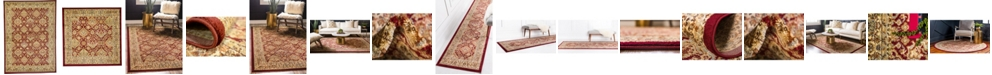Bridgeport Home Passage Psg7 Red Area Rug Collection