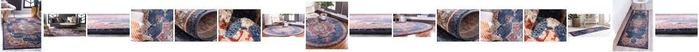 Bridgeport Home Shangri Shg3 Navy Blue Area Rug Collection