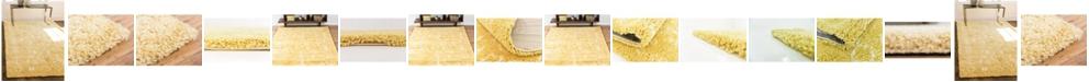 Bridgeport Home Fazil Shag Faz1 Yellow Area Rug Collection