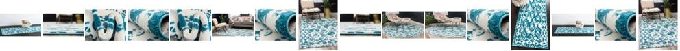 Bridgeport Home Mishti Mis5 Blue Area Rug Collection