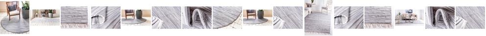 Bridgeport Home Jari Striped Jar1 Gray Area Rug Collection