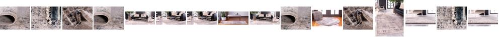 Bridgeport Home Anika Ani1 Tan/Navy Area Rug Collection
